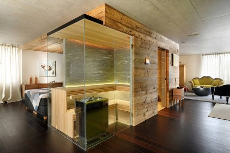 Leave It to the Swiss to Build a Sauna That Fits Pretty Much Anywhere