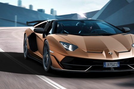 Automobili Lamborghini launched the Aventador SVJ Roadster at the 2019 Geneva Motor Show. (Lamborghini)