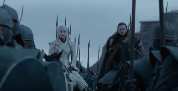 "An image from the official trailer for final season of ""Game of Thrones."" (HBO)"