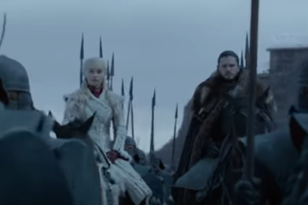 """An image from the official trailer for final season of """"Game of Thrones."""" (HBO)"""