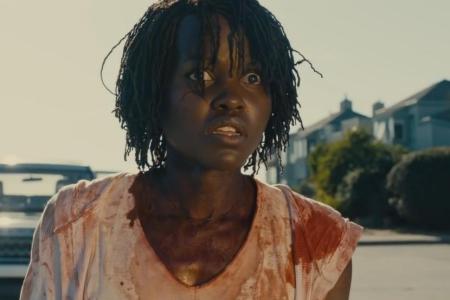 "Lupita Nyong'o in a still from the IMDB.com trailer of Jordan Peele's ""Us"" (IMDB)"