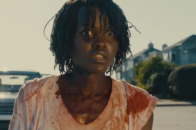 "Lupita Nyong'o in a still from the IMDB.com trailer of Jordan Peele's ""Us"" (IMDB)"