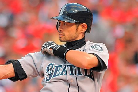 Ichiro Suzuki during the 2009 MLB All-Star Game (Photo by Mark Cunningham/MLB Photos via Getty Images)