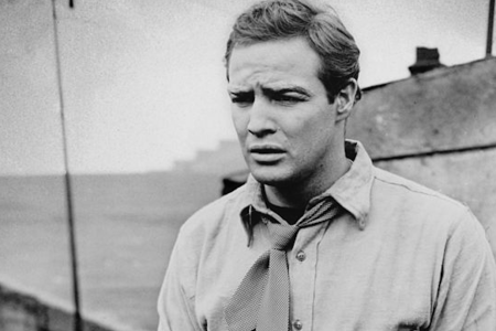"Marlon Brando in a scene from ""On The Waterfront."" (Photo by Columbia Pictures/Archive Photos/Getty Images)"