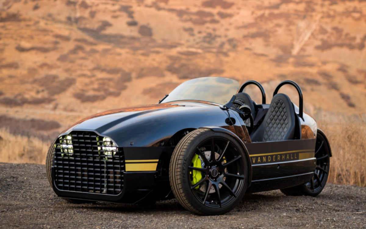 Vanderhall's Electric Trike Goes 0-60 in 4 Seconds