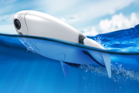 This Underwater Drone Gives New Meaning to Catch and Release