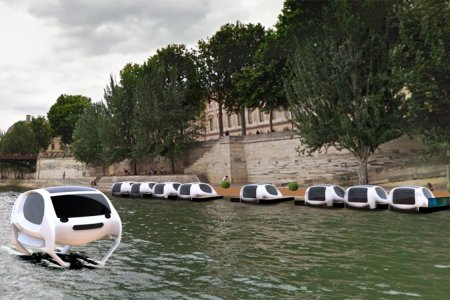 Paris Is Getting Flying Water Taxis and We're a Wee Bit Jealous