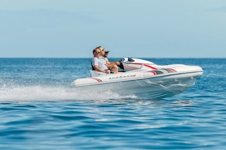 An Inflatable Jet Ski Boat Is as Fun as It Sounds