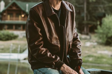 Gaze Upon the Leather Jacket Your Closet's Been Missing