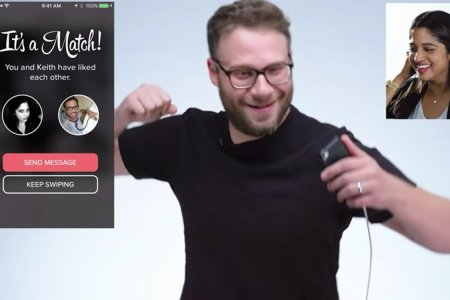 Seth Rogen's Tinder Game Is Something to See