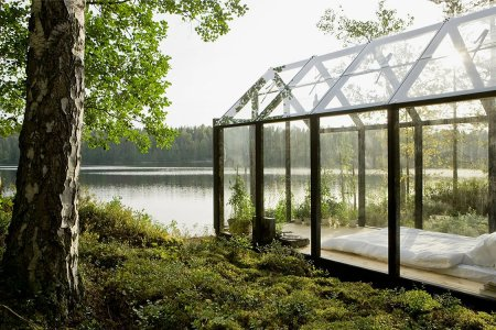 Greenhouse, Garden Shed or the Perfect Backyard Bedroom?