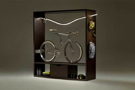 Vadolibero's New Bicycle Shelf Is a Head-Turner