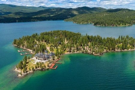 Just a Private Island for Sale in the Rocky Mountains, NBD
