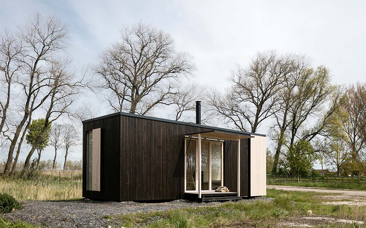 This Portable Cabin Might as Well Be a Tent