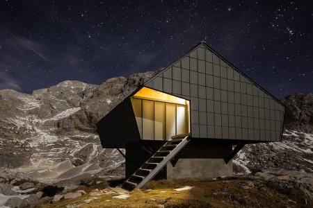 Might This Be the Most Beautiful Hiking Shelter in the World?
