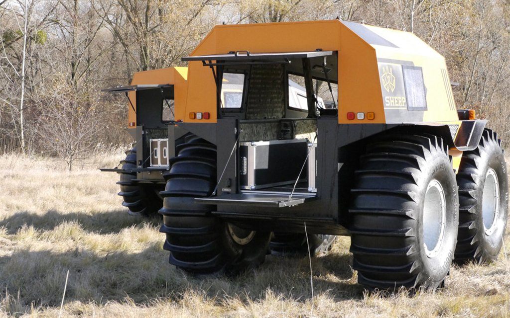 Sherp Atv For Sale >> Russian Sherp Atv Is Amphibious And Uses Patented Tires