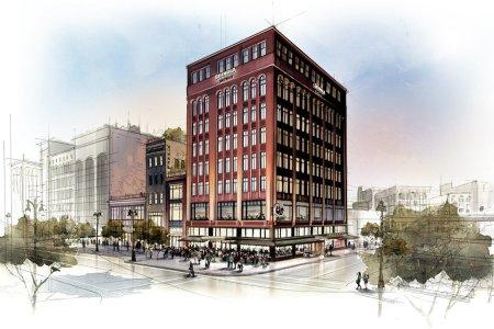 Next Move for Shinola? A Big Ol' Boutique Hotel in Detroit.