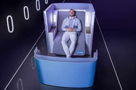 One Mattress Company's Brilliant Idea for Better Sleep on a Plane