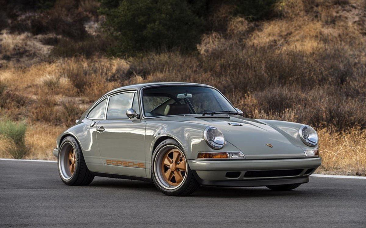 Shall We Compare This Restored Porsche 911 to a Summer's Day?