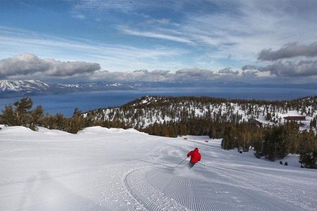 Tahoe Is Now Home to America's First Ski-in, Ski-out Coworking Space