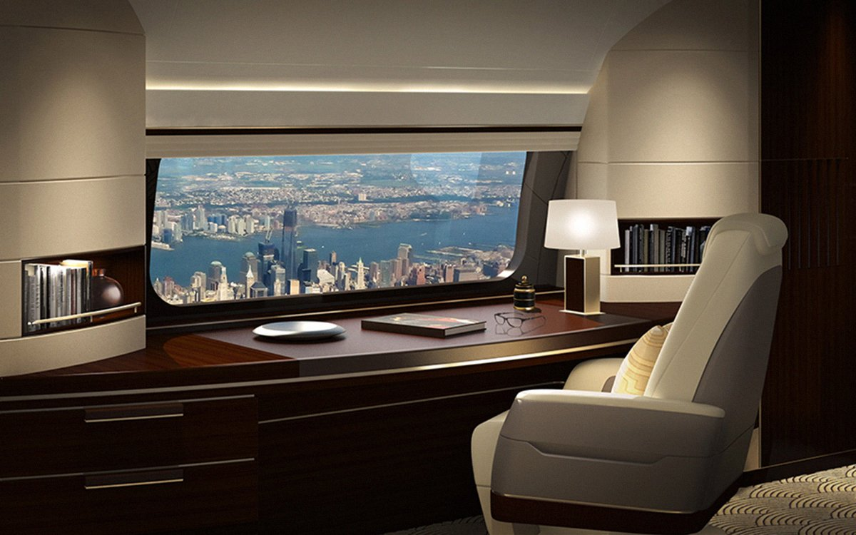 With Boeing's New XL Windows, Who Needs In-Flight Entertainment?