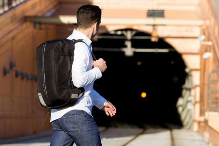 This Backpack Wants to Kill Off the Rolling Carry-on for Good