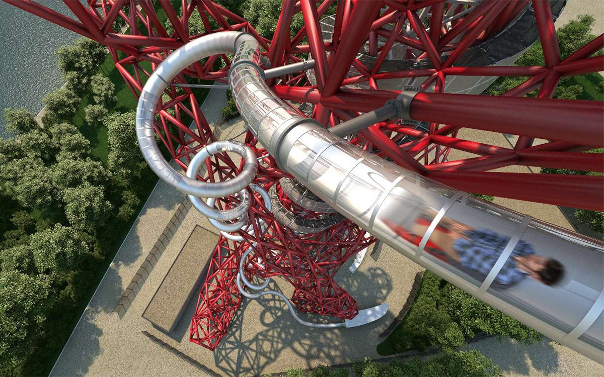 This Is the World's Longest Tunnel Slide and Yes, You Can Ride It