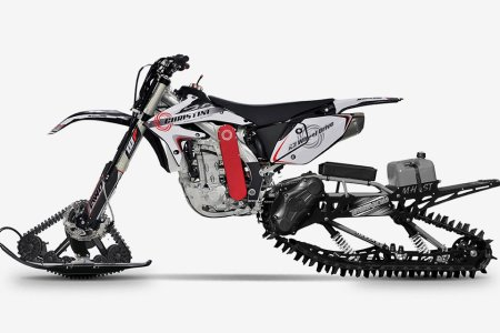 A Dirtbike and a Snowmobile Tried to Make a Baby. It Worked.