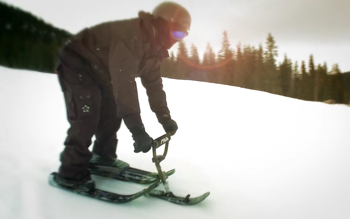This Sled Was Engineered to Break the Amateur Recreational Land Speed Record