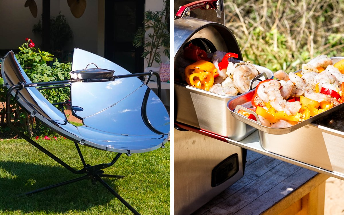 The Next Big Thing in Grilling? Solar Power.