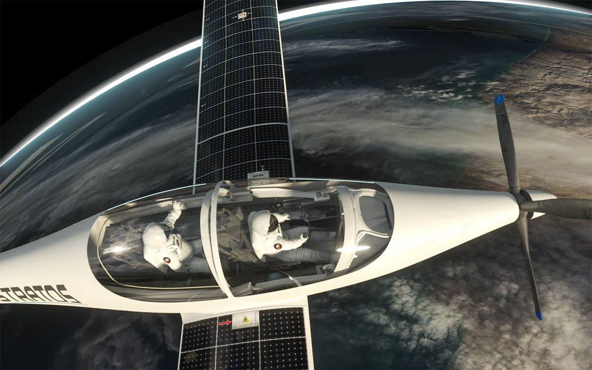 Solar-Powered Jet to Take Giant Leap for Airplanekind