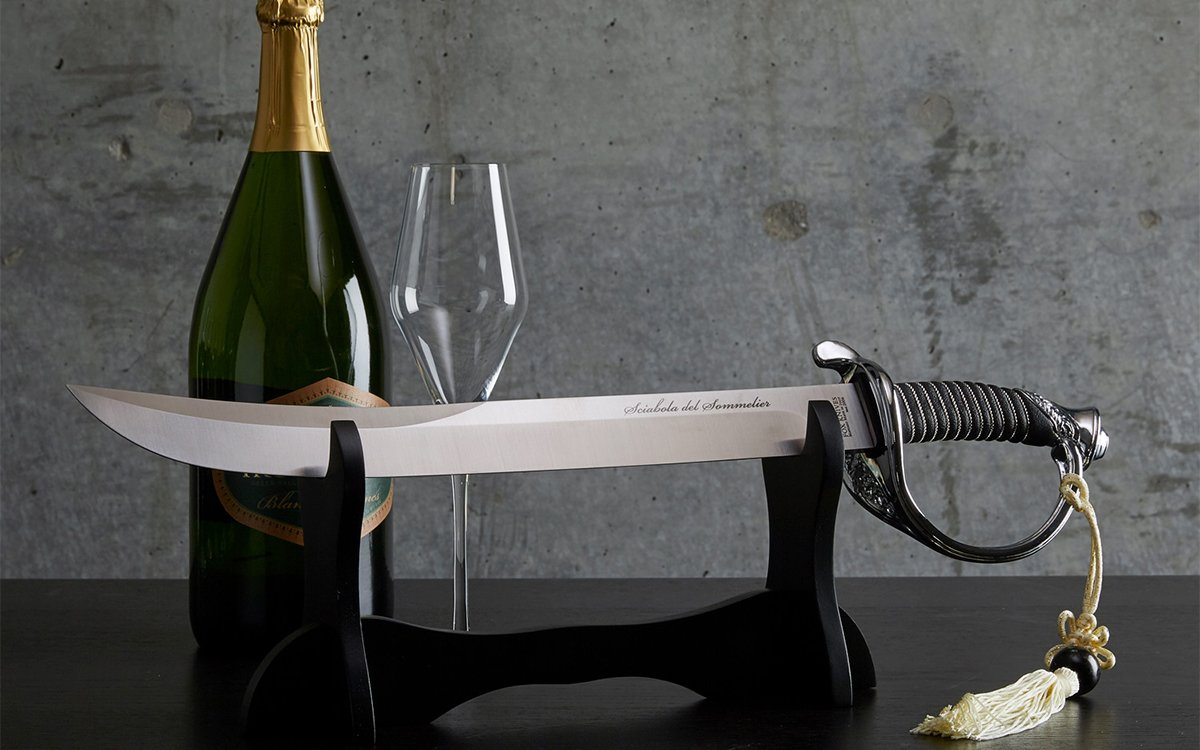 Your Bar Needs a Sommelier's Saber
