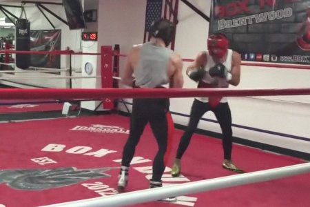 Here's Conor McGregor, Sparring With an Out-of-Shape Journeyman