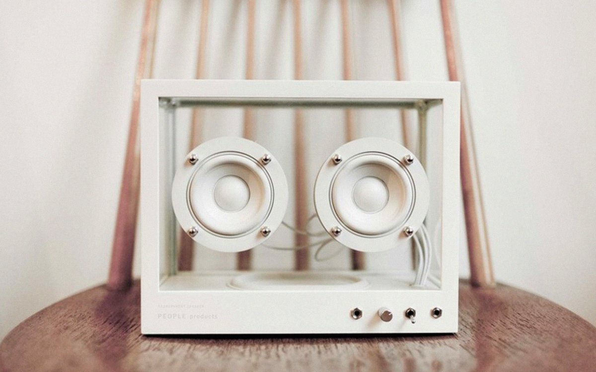These Transparent, Sustainable Speakers Are Just Cute as Hell