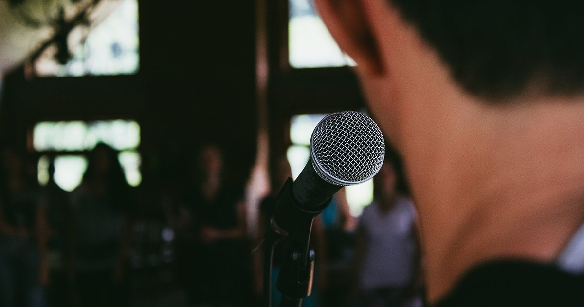 If You're Afraid of Public Speaking, Follow This Advice