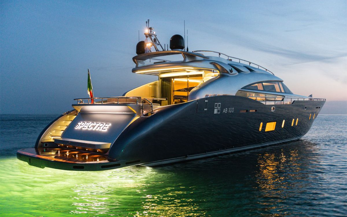 The Spectre Superyacht Was Built to Outrun James Bond