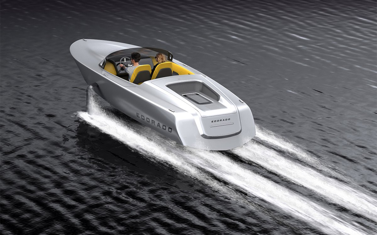 This Is the Electric Speedboat Racers Dream Of