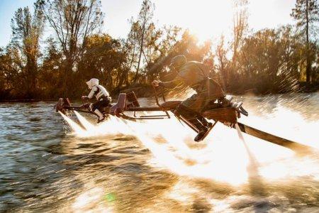 These Geniuses Made IRL 'Star Wars' Speeder Bikes From Jet Skis
