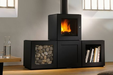 Pretty Much the Sexiest Wood-Burning Stove of All Time