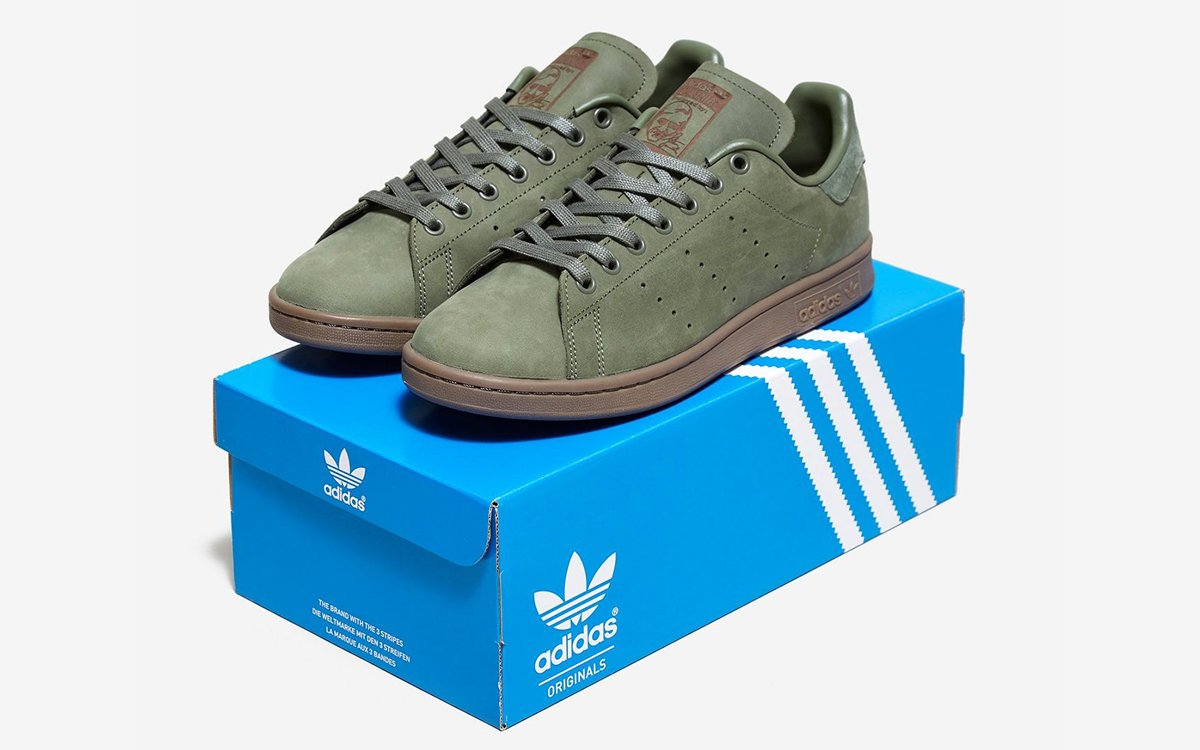 The Adidas Stan Smiths Are Finally Ready for Winter