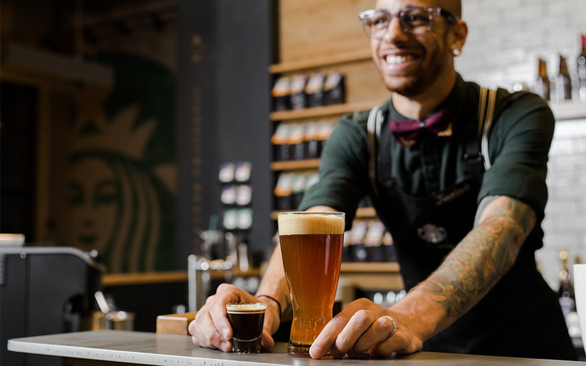 Starbucks' Newest Special? A Beer-and-Coffee Boilermaker.