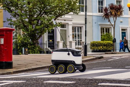 Bid Your New Food Delivery Robot a Hearty Thank You