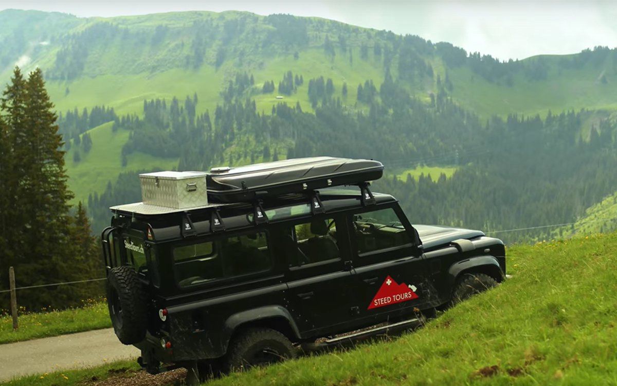 Don't Watch This Unless You're Ready to Book a Swiss Alps Land Rover Tour