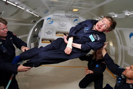 Stephen Hawking Is Going to Space, Y'all