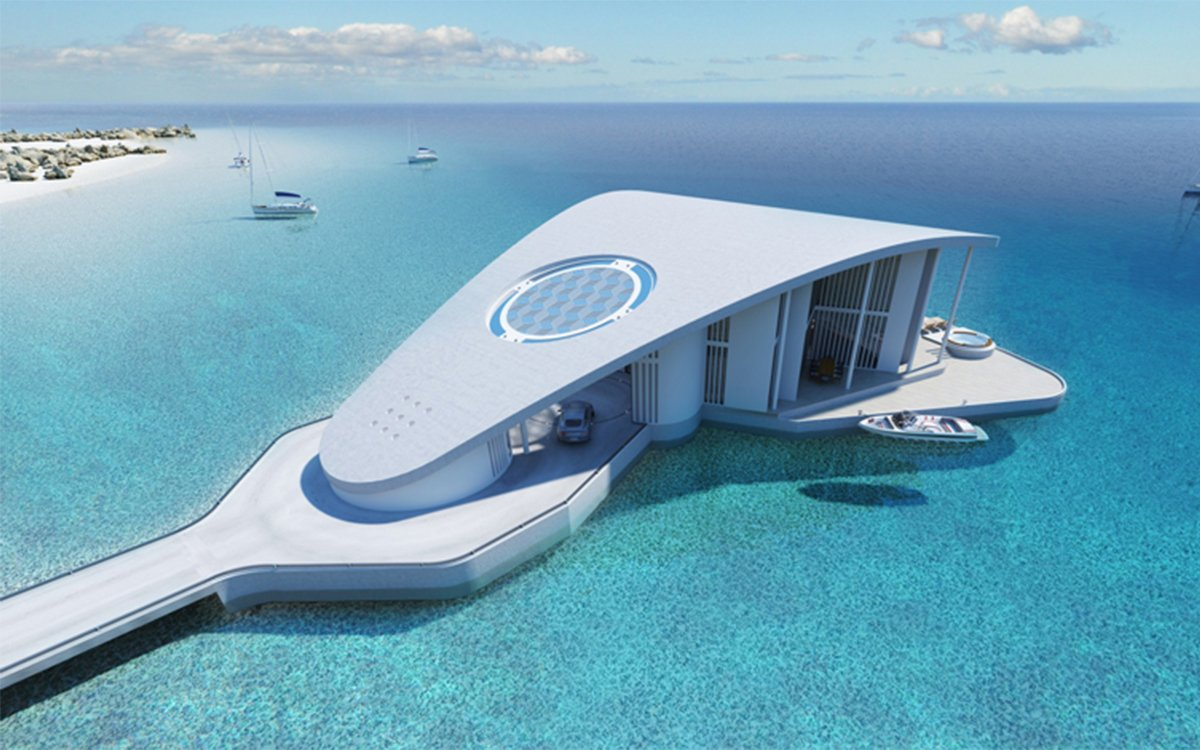 Today's Lifehack: Become Millionaire, Move Into Floating House