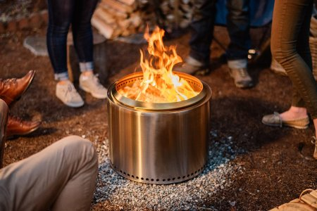 You Don't Need a Boy Scout Badge to Start This Idiot-Proof Portable Bonfire