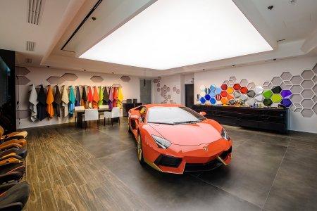 Here's a Look Inside Lamborghini's New Custom Studio/Playground for Car Lovers