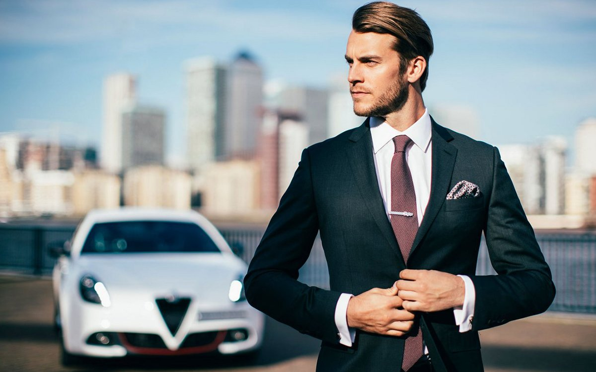 When It Rains … Alfa Romeo's All-Weather Suit Still Looks Dapper as Hell