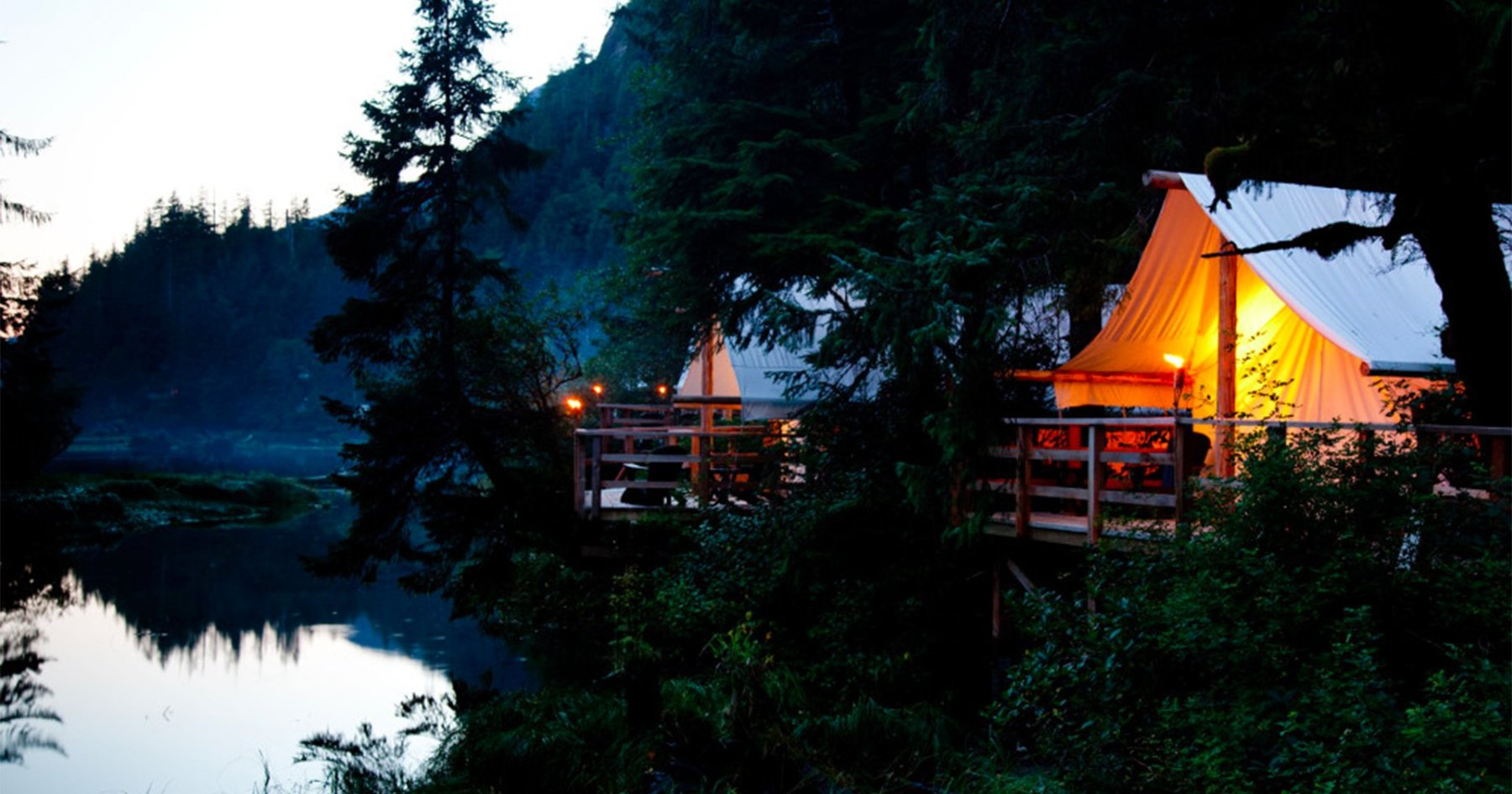 The Five Best Summer Lodges for Not Quite Roughing It