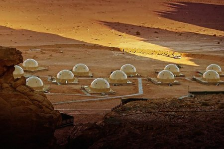 This Desert Dome Colony Is the Closest You're Getting to Mars